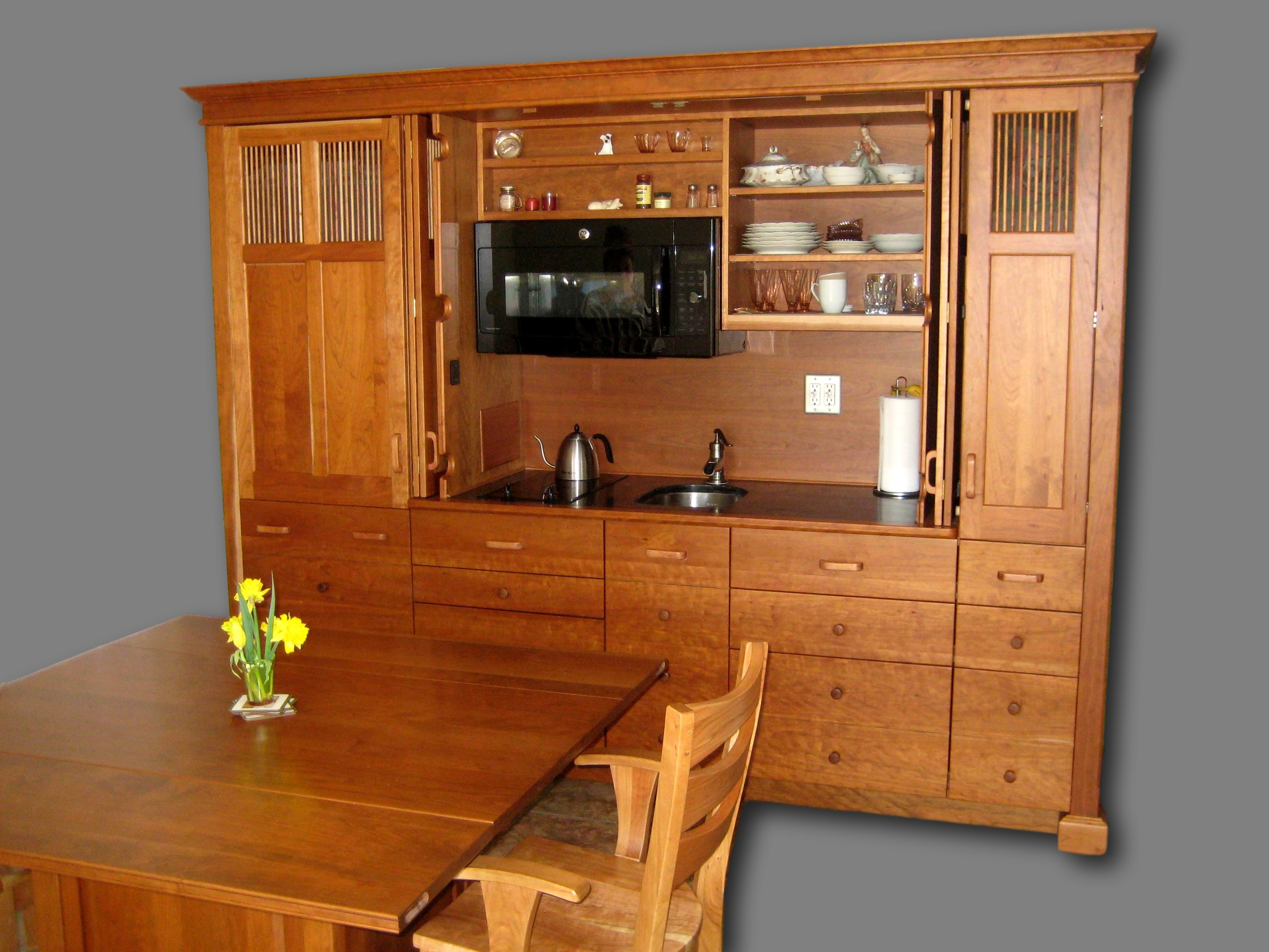 Combine workstations to create a multi functional for The combine kitchen