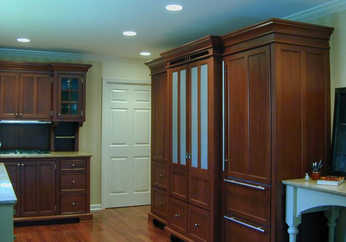 Refrigerator Armoire includes the Ovens and Pantry | YesterTec ...