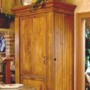 Armoire Refrigerator Pantry Workstations