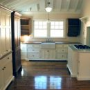 Shaker Inspired Kitchen for a Stone Mountain Cottage