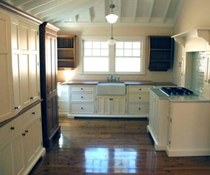 Shaker Inspired Kitchen For A Stone Mountain Cottage Yestertec Kitchen Works
