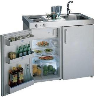 Small space living mini kitchens yestertec kitchen works for Studio kitchen ideas for small spaces