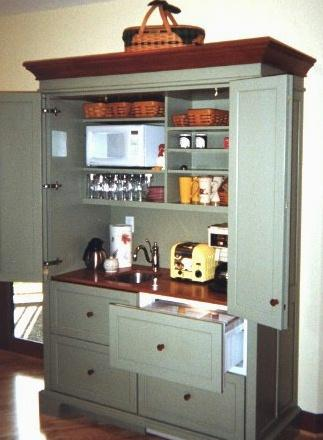 Armoire Hospitality Centers Amp Working Pantries Yestertec