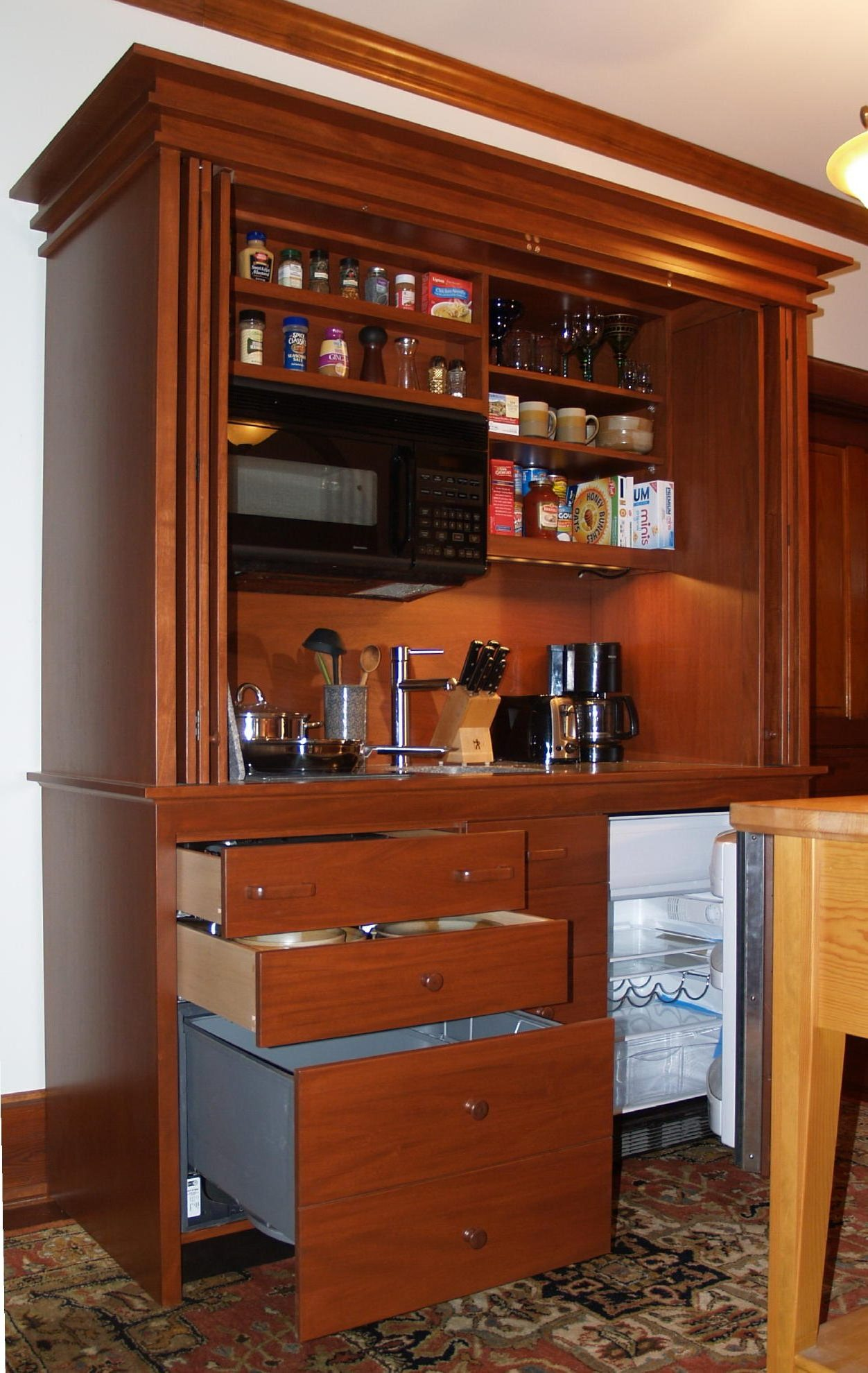 This Unit Kitchen (compact Kitchen, Mini Kitchen, Kitchenette, All In One  Kitchen; Are All Terms For The Same Thing) Is A Workaholic Beast And We Are  Going ...
